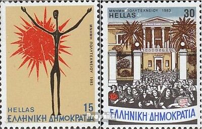 Greece 1529-1530 (complete issue) unmounted mint / never hinged 1983 Uprising