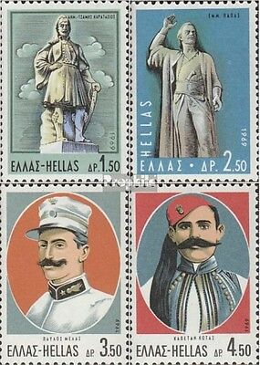 Greece 1019-1022 (complete issue) unmounted mint / never hinged 1969 liberation