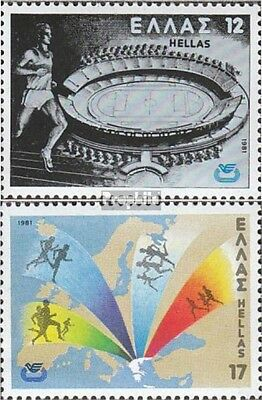 Greece 1447-1448 (complete issue) unmounted mint / never hinged 1981 Athletics