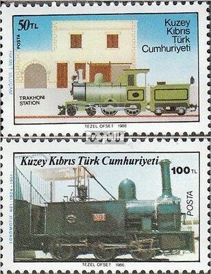 Turkish-Cyprus 197-198 (complete issue) unmounted mint / never hinged 1986 rail