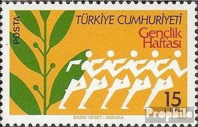 Turkey 2633 (complete issue) unmounted mint / never hinged 1983 Jugendwoche