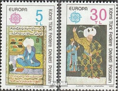 Turkish-Cyprus 83-84 (complete issue) unmounted mint / never hinged 1980 Europe