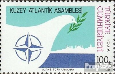 Turkey 2764 (complete issue) unmounted mint / never hinged 1986 NATO