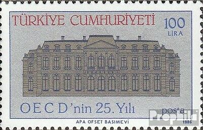 Turkey 2754 (complete issue) unmounted mint / never hinged 1986 OECD