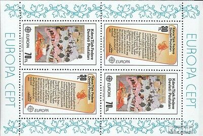 Turkish-Cyprus block3 (complete issue) used 1982 historical. Ev