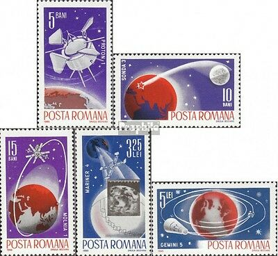 Romania 2465-2469 (complete issue) unmounted mint / never hinged 1965 World Spac