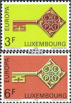 Luxembourg 771-772 (complete issue) unmounted mint / never hinged 1968 Europe