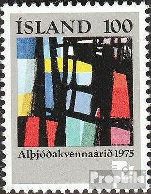 Iceland 510 (complete issue) unmounted mint / never hinged 1975 Year the Woman