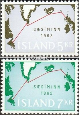 Iceland 366-367 (complete issue) unmounted mint / never hinged 1962 submarine ca