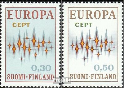 Finland 700-701 (complete issue) unmounted mint / never hinged 1972 Europe