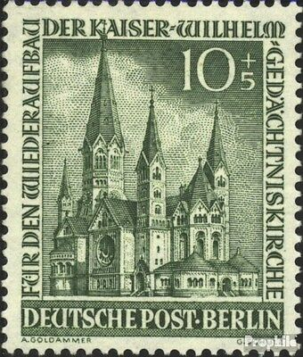 Berlin (West) 107 unmounted mint / never hinged 1953 Memorial Church