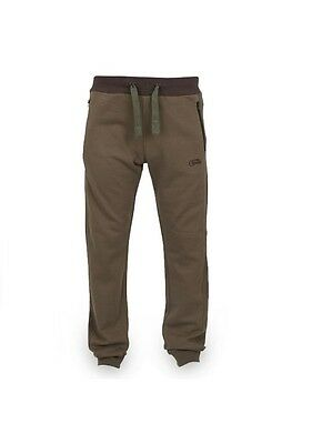 Fox NEW Carp Fishing Trousers Chunk Khaki Cuffed Ribbed Joggers *All Sizes*