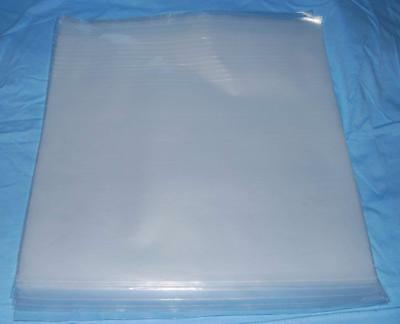 "100 7"" Plastic Polythene Record Sleeves / Covers 450G  + Free Delivery"