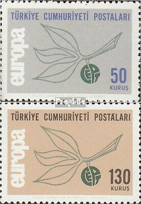 Turkey 1961-1962 (complete issue) unmounted mint / never hinged 1965 Europe