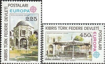 Turkish-Cyprus 55-56 (complete issue) unmounted mint / never hinged 1978 Europe