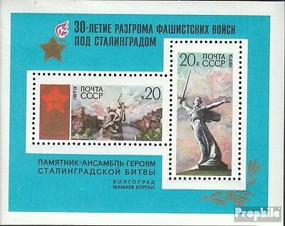 Soviet-Union block83 (complete issue) unmounted mint / never hinged 1973 Anniver