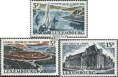 Luxembourg 832-834 (complete issue) unmounted mint / never hinged 1971 Landscape