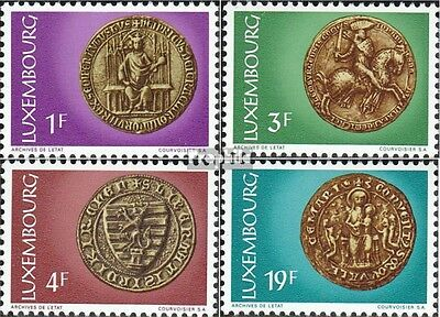 Luxembourg 878-881 (complete issue) unmounted mint / never hinged 1974 Seal