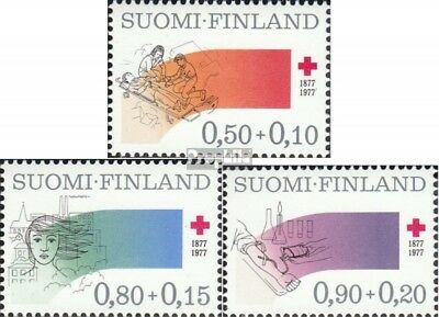 Finland 799-801 (complete issue) unmounted mint / never hinged 1977 finnish Red