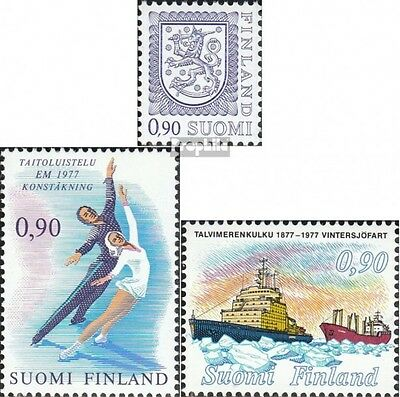 Finland 797I,802,805 (complete issue) unmounted mint / never hinged 1977 special
