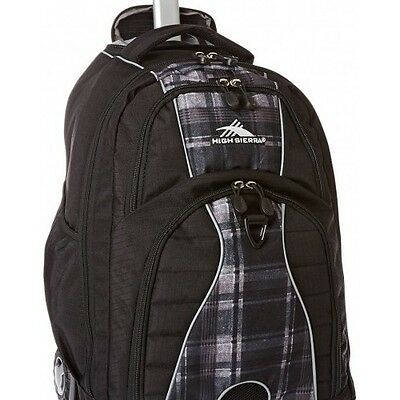 Backpack Rolling Wheeled Book Bag School Laptop Travel Freewheel luggage New