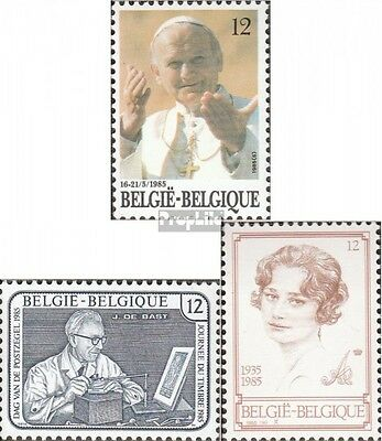 Belgium 2218,2221,2235 (complete issue) unmounted mint / never hinged 1985 speci