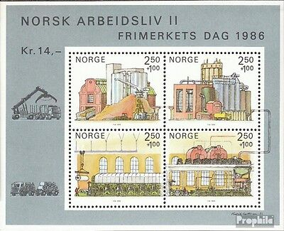 Norway block6 (complete issue) unmounted mint / never hinged 1986 Day the Stamp