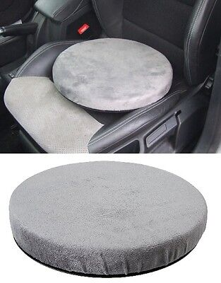 Swivel Chair Rotating Seat Mobility Aid Cushion With Memory Foam Car Home Office