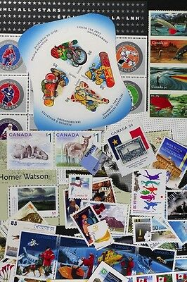 CANADA Postage Stamps, 2005 Complete Year set collection, Mint NH, See scans