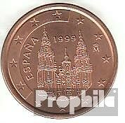 Spain Article: e 3 1999 brillant uncirculated (BU) 1999 Kursmünze 5 cent