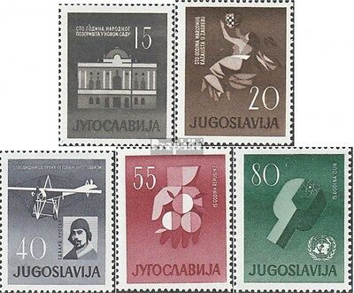 Yugoslavia 930-934 (complete issue) unmounted mint / never hinged 1960 Serbia Vo