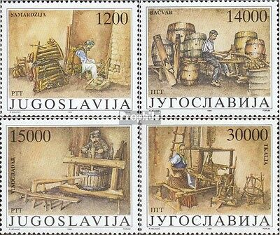 Yugoslavia 2380-2383 (complete issue) unmounted mint / never hinged 1989 Old cra