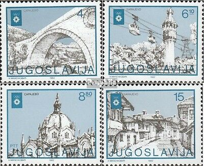 Yugoslavia 1950-1953 (complete issue) unmounted mint / never hinged 1982 Olympic