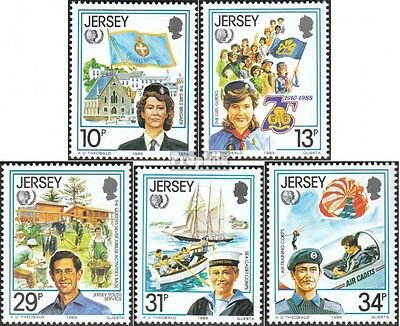 united kingdom-Jersey 350-354 (complete issue) unmounted mint / never hinged 198