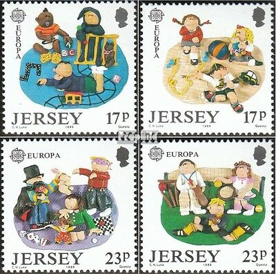 united kingdom-Jersey 476-479 (complete issue) unmounted mint / never hinged 198