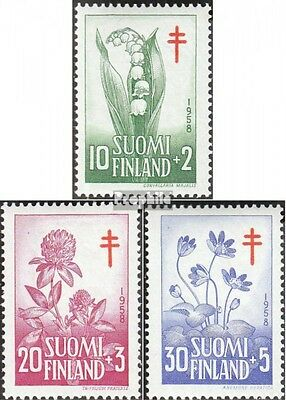Finland 493-495 (complete issue) unmounted mint / never hinged 1958 Fight the Tu
