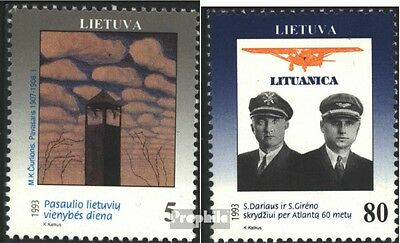 Lithuania 529-530 (complete issue) unmounted mint / never hinged 1993 Unit