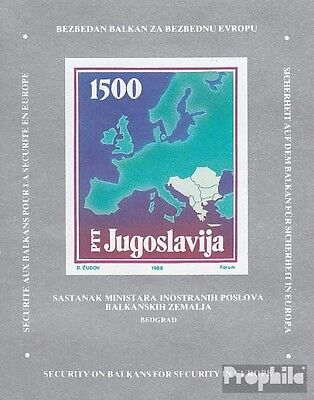 Yugoslavia block31 (complete issue) unmounted mint / never hinged 1988 Foreign-C