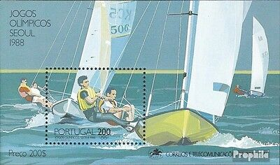 Portugal block60 (complete issue) used 1988 Summer