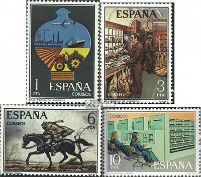 Spain 2222-2225 (complete issue) unmounted mint / never hinged 1976 Postal Servi