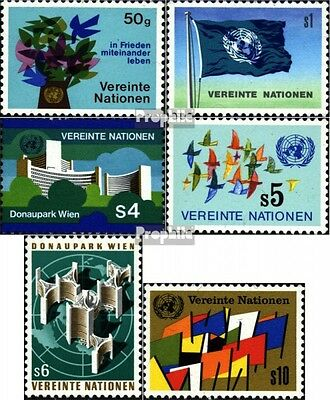 UN-Vienna 1-6 (complete issue) unmounted mint / never hinged 1979 Donaupark Vien