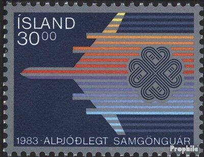 Iceland 605 (complete issue) unmounted mint / never hinged 1983 Communications