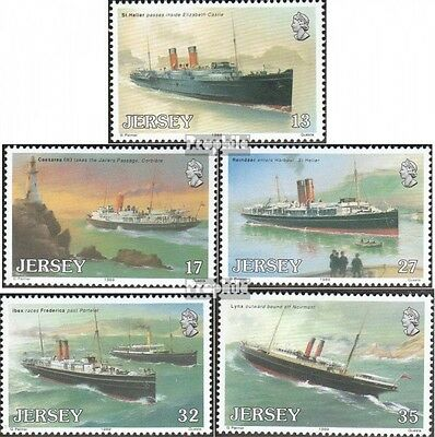 united kingdom-Jersey 491-495 (complete issue) unmounted mint / never hinged 198