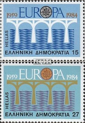Greece 1555-1556 (complete issue) used 1984 Europe