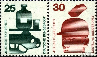 FRD (FR.Germany) W45 unmounted mint / never hinged 1973 Accident prevention