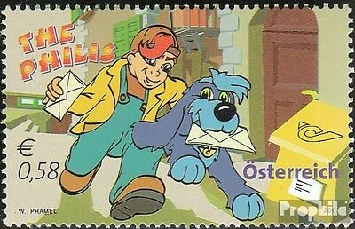 Austria 2377 (complete issue) FDC 2002 comic