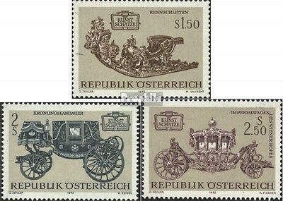 Austria 1406-1408 (complete issue) FDC 1972 Treasures