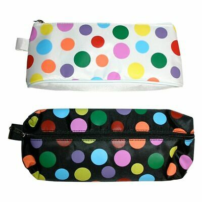 Just Stationery 210mm Polka Dots Pencil Case - Assorted Shapes