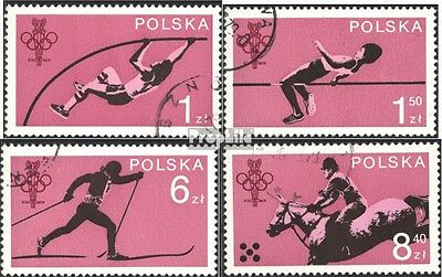 Poland 2612-2615 (complete issue) used 1979 60 years polish. ol