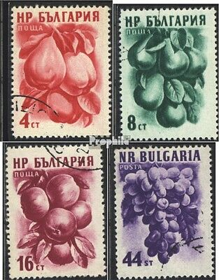 Bulgaria 982-985 (complete issue) used 1956 Fruits